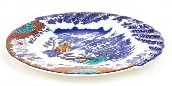 Výprodej Seletti designové talíře Hybrid Valdrada