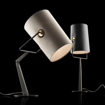 Výprodej DIESEL with Foscarini stolní lampy Fork Tavolo (hnědá/ ivory) stmívatelná