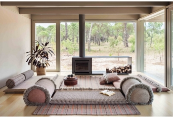 Gan designové zahradní lehátka Garden Layers Indian Single Bed Terracotta