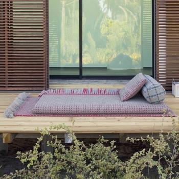 Gan designová zahradní lehátka Garden Layers Terracotta Small Matress Gofre