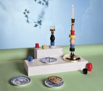 Výprodej Seletti designové svícny Candlestack Mini
