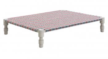 Gan designové zahradní lehátka Garden Layers Indian Single Bed Blue