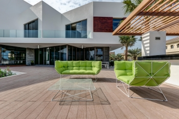 Sphaus designové zahradní stolečky Foxhole 50