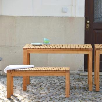Jan Kurtz designové zahradní lavičky Sumatra (šířka 130 cm)