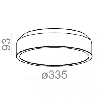 Aquaform designová stropní svítidla Revel LED