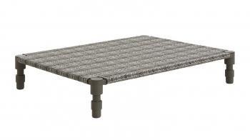 Gan designové zahradní lehátka Garden Layers Indian Single Bed Green