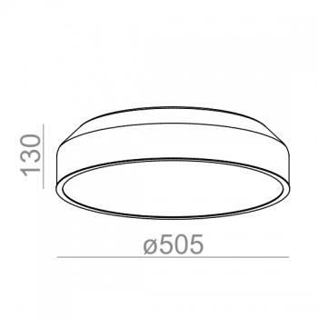 Aquaform designová stropní svítidla Maxi Ring LED