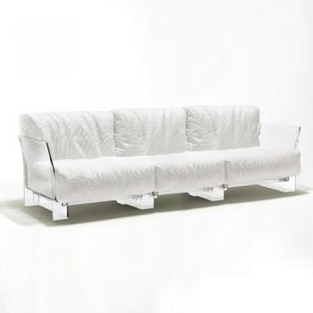 Kartell designová křesla Pop bavlna