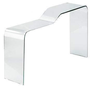 Výprodej Jan Kurtz designové konzolové stoly Wave (ice, transparentní)