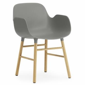 Normann Copenhagen designové židle Form Armchair Wood