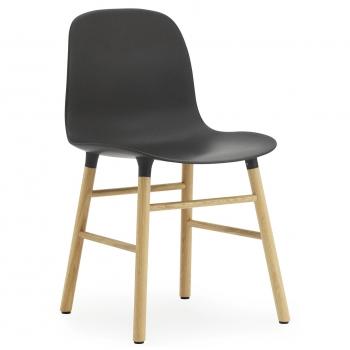 Normann Copenhagen designové židle Form Chair Wood