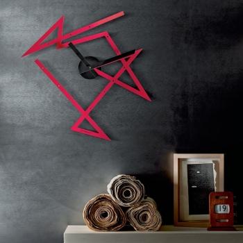 Alessi designové nástěnné hodiny Time Maze
