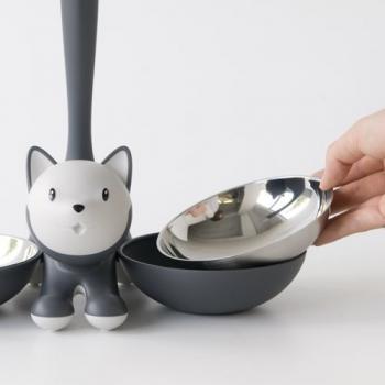 Alessi designové misky pro kočky Tigrito