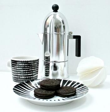 Alessi designové Espresso kávovary La Cupola (objem 7 cl)