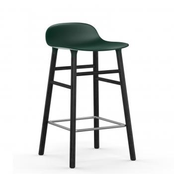Normann Copenhagen designové barové židle Form Barstool Wood 75cm