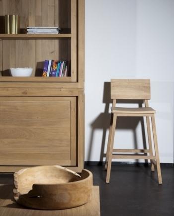 Ethnicraft designové barové židle N3