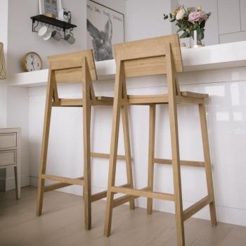 Ethnicraft designové barové židle N4