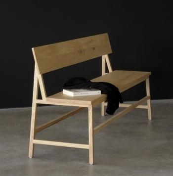 Ethnicraft designové lavice N3 Bench