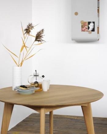 Ethnicraft designové jídelní stoly Osso Round High