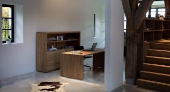 Ethnicraft designové pracovní stoly U