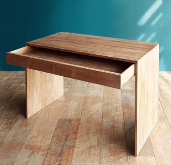 Ethnicraft designové konzolové stoly Wave Desk