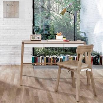 Ethnicraft designové pracovní stoly Verso Desk
