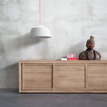 Ethnicraft designové komody Pure Sideboard - 2 doors (150 cm)
