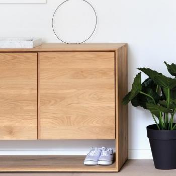 Ethnicraft designové komody Nordic Sideboard - 2 doors