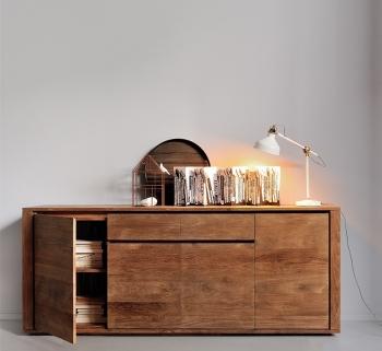 Ethnicraft designové komody Elemental Sideboard - 3 doors