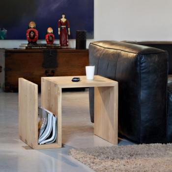 Ethnicraft designové odkládací stoly Naomi Side Table