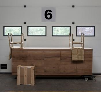 Ethnicraft designové komody Burger Sideboard - 3 doors