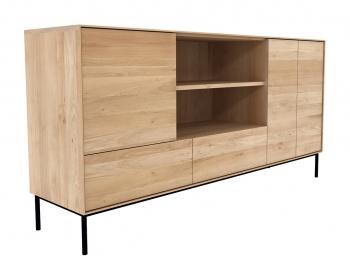 Ethnicraft designové komody Whiteboard Sideboard - 3 doors