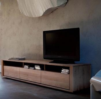 Ethnicraft designové skříňky pod televizi Shadow TV - 2 drawers