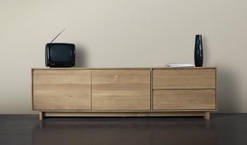 Ethnicraft designové skříňky pod televizi Wave TV cupboard