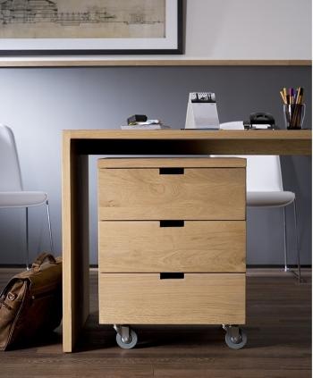 Ethnicraft designové kancelářské úložné boxy Billy Box