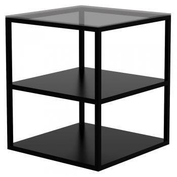 Ethnicraft designové konferenční stolky Anders Side Table - 2 shelves