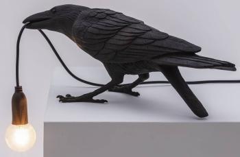 Seletti designové stolní lampy Bird Lamp Waiting