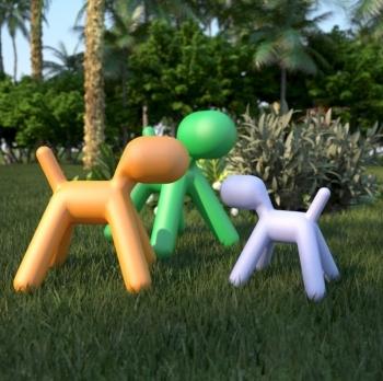 Magis designové Me Too dětské stoličky Puppy Large
