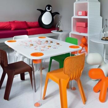 Magis designové Me Too dětské stoly Little Flare (100 x 54 x 75 cm)