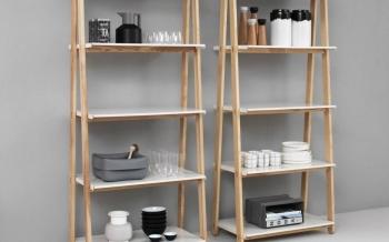 Normann Copenhagen designové knihovny One Step Up Bookcase Small