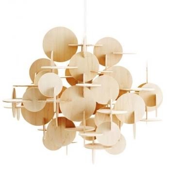 Normann Copenhagen designová závěsná svítidla Bau Lamp Small