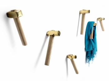 Mogg designový set 3 nástěnných věšáků Bastaaa