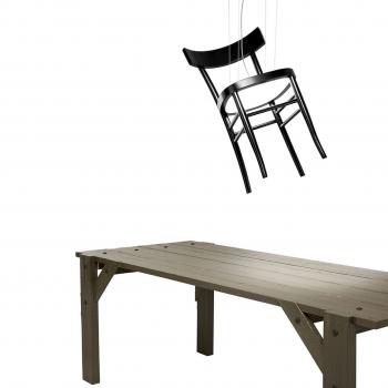 Mogg designová závěsná svítidla Chair