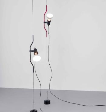 Flos designové stojací lampy Parentesi