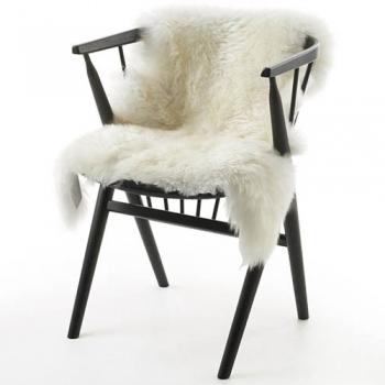 Výprodej Natures Collection designové kůže Novozélandská jehněčí kůže s dlouhým vlasem - Ivory