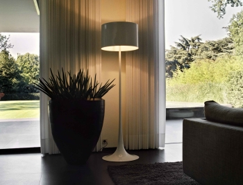 Flos designové stojací lampy Spun Light F
