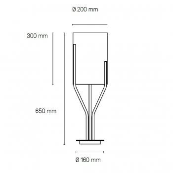 CVL Luminaires designové stolní lampy Arborescence Table XS