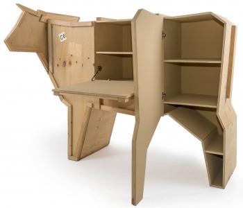 Seletti designové úložné prostory Sending Animals (Goose)
