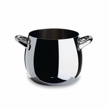 Alessi designové hrnce na polévku Mami Black (objem 560 cl)