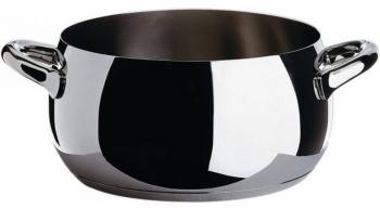 Alessi designové hrnce Mami Black (objem 160 cl)